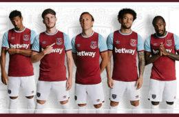 Nuova maglia West Ham 2020-2021
