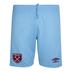Pantaloncini West Ham celesti away 2020-21
