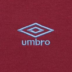 Logo Umbro ricamato maglia West Ham