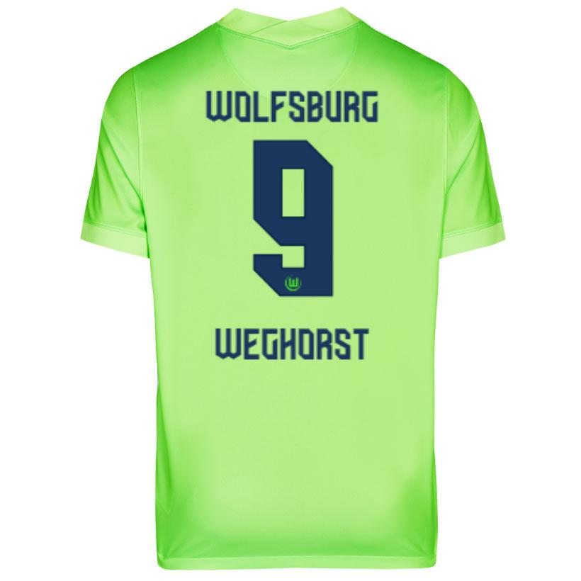 Maglie Wolfsburg 2020-2021, Nike torna al verde più chiaro