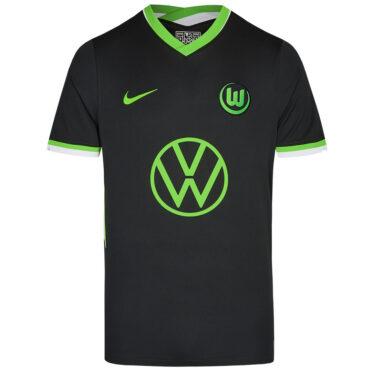 Seconda maglia Wolfsburg 2020-2021 nera