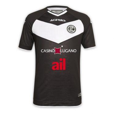Maglia Lugano 2020-2021 nera