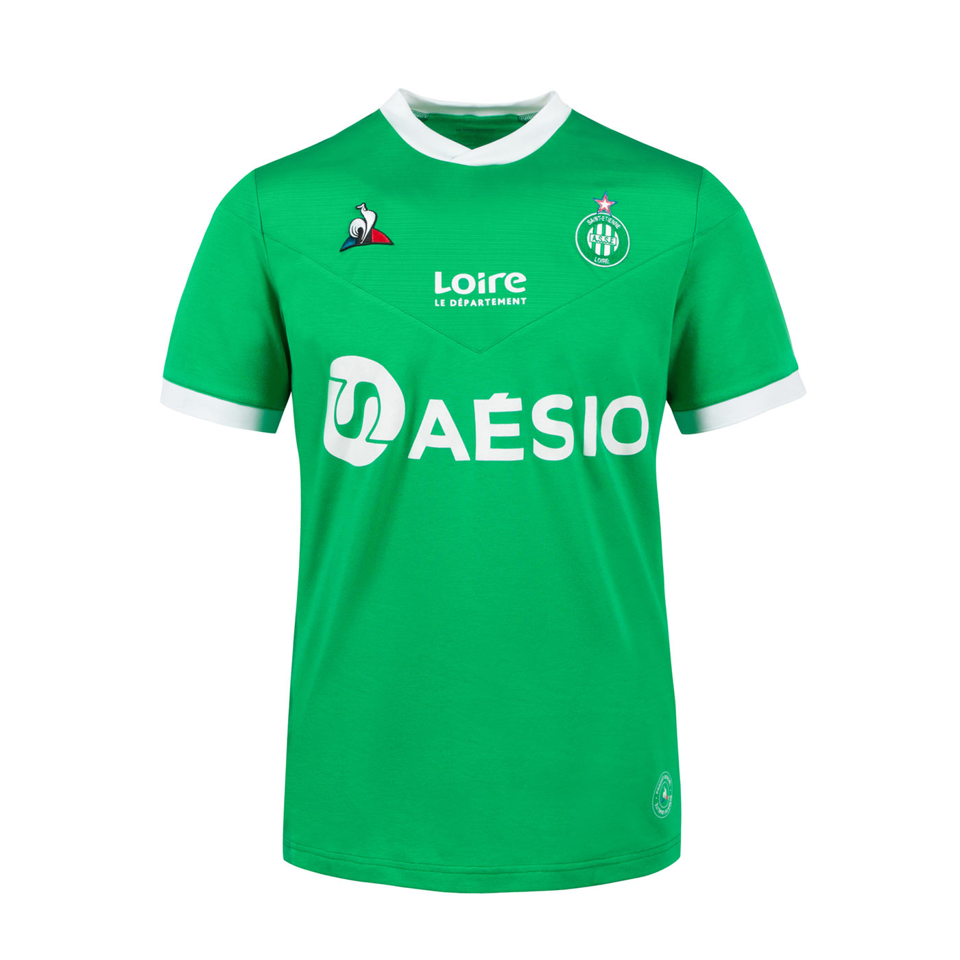 Maglie Saint-Etienne 2020-2021, l'armatura firmata Le Coq Sportif