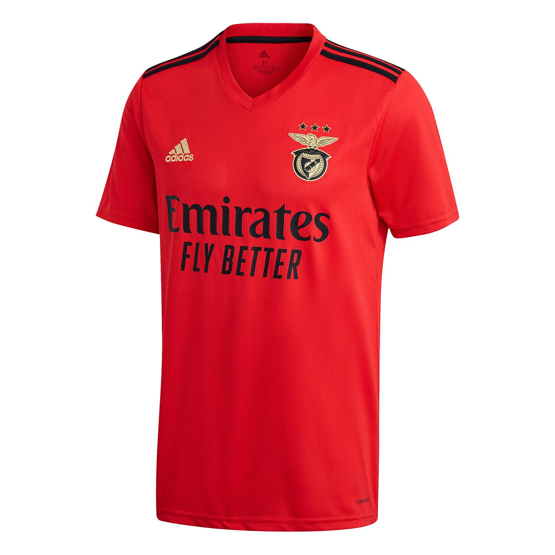 Maglie Benfica 2020-2021 Adidas, insieme al rosso ecco il nero e l'oro