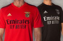 Le nuove maglie del Benfica 2020-2021
