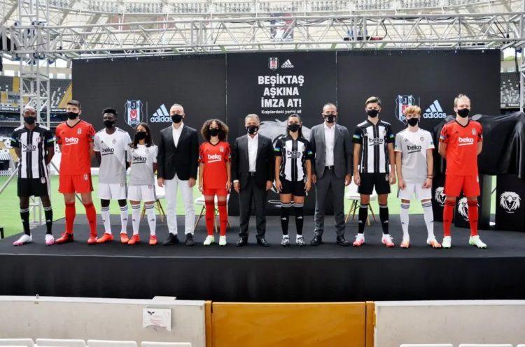 Presentazione maglie Besiktas 2020-21