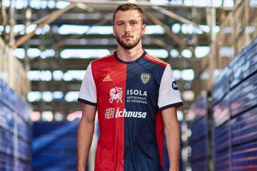 Le nuove maglie del Cagliari 2020-2021 Adidas