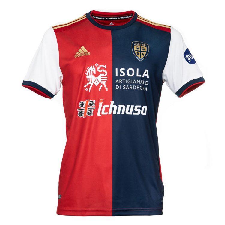 Maglia Cagliari 2020-2021 Adidas