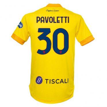 Terza maglia Cagliari 2020-2021 Pavoletti