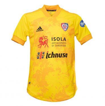 Terza maglia Cagliari gialla 2020-2021