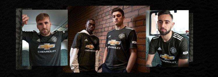 Manchester United divisa away 2020-2021