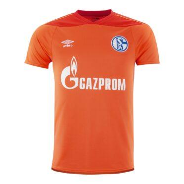 Maglia portiere Schalke 04 arancione 2020-21