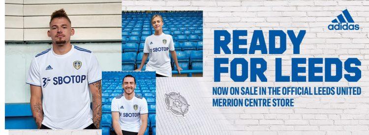 Leeds nuove maglie 2020-21 Adidas