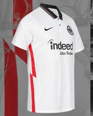 Seconda maglia Eintracht 2020-21 Nike