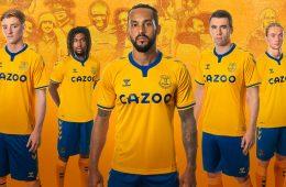 Everton 2020-2021 maglie trasferta