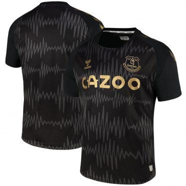 Everton maglia portiere nera 2020-21
