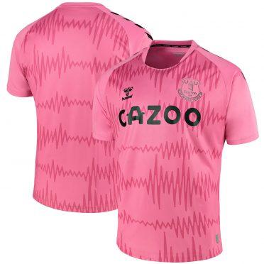 Everton maglia portiere rosa 2020-21