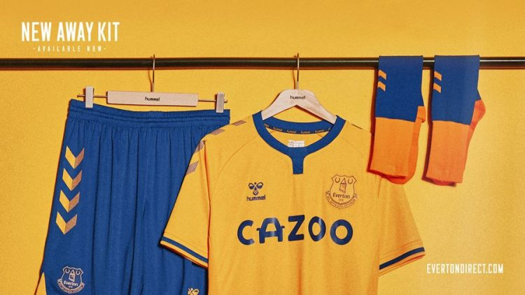 Everton kit away 2020-21