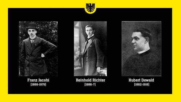 fondatori del club ed il loro