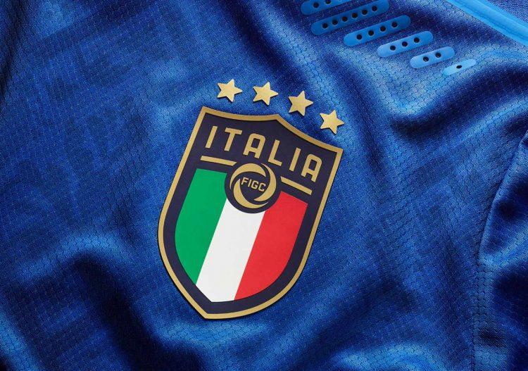 Stemma Italia nuova maglia Europei 2021