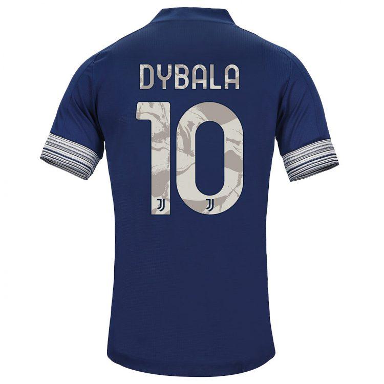 Maglia Juventus away 2020-21 - Dybala 10