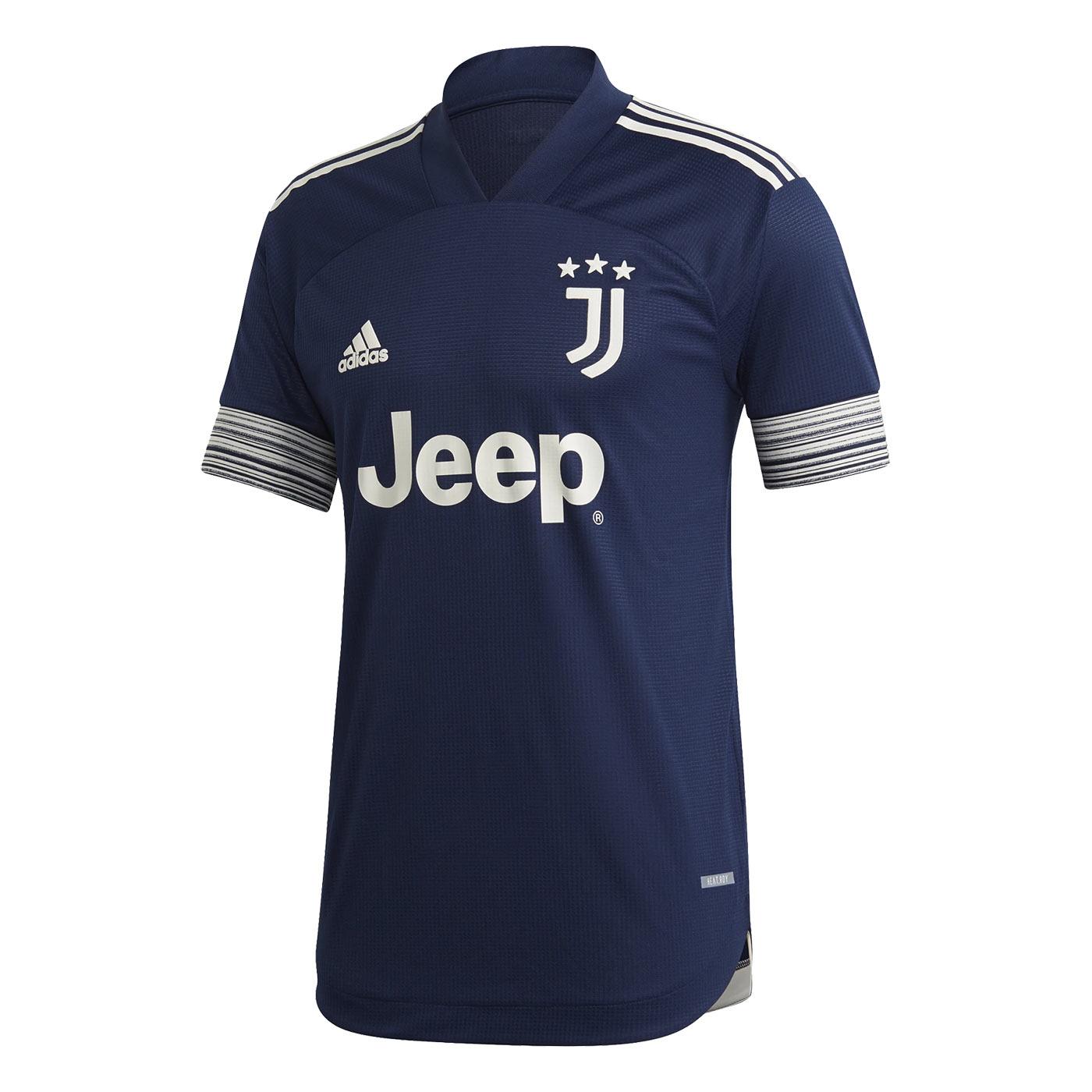 Seconda maglia Juventus 2020-2021, torna il blu di Torino