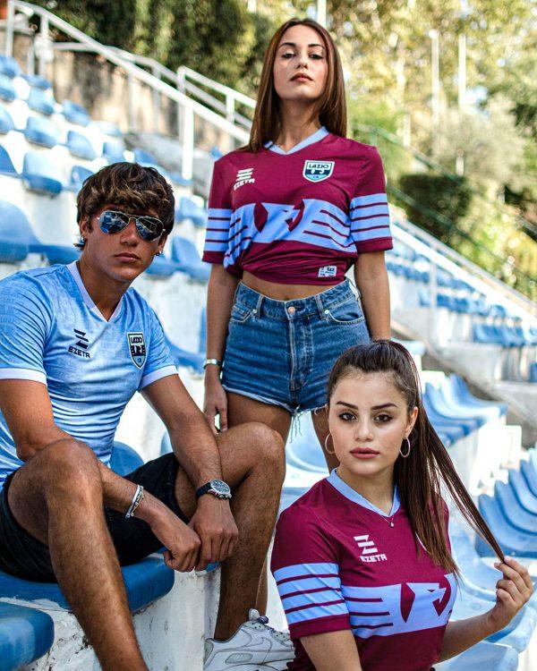Le divise della Lazio Calcio a 8 stagione 2020-2021 Ezeta
