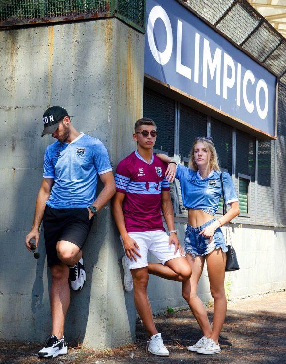 Divise Lazio Calcio a 8 2020-2021