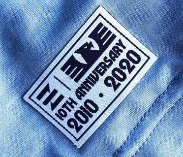 Etichetta 10 anni Lazio Calcio a 8