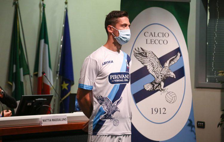 Seconda maglia Lecco 2020-2021 bianca