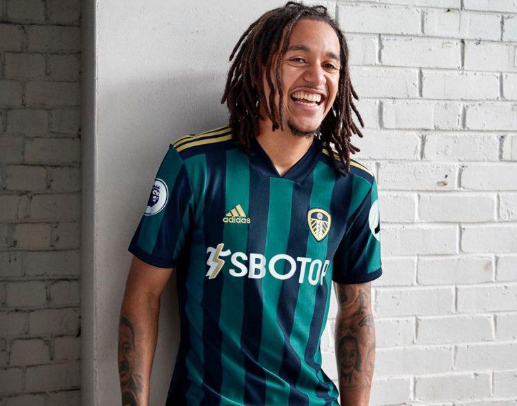 Seconda maglia Leeds 2020-21 blu-verde