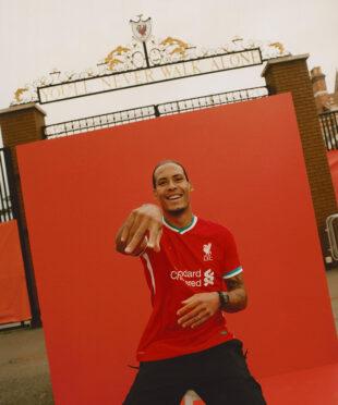 Virgil van Dijk maglia Liverpool Nike