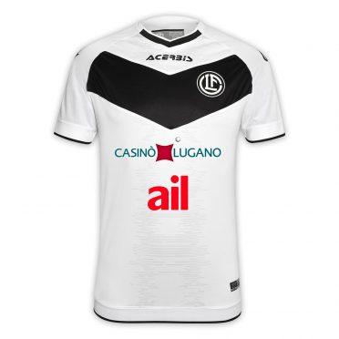 Seconda maglia Lugano 2020-21 bianca