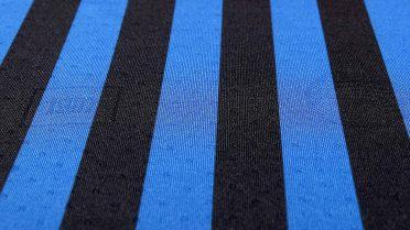 Dettagli nel tessuto maglia Atalanta