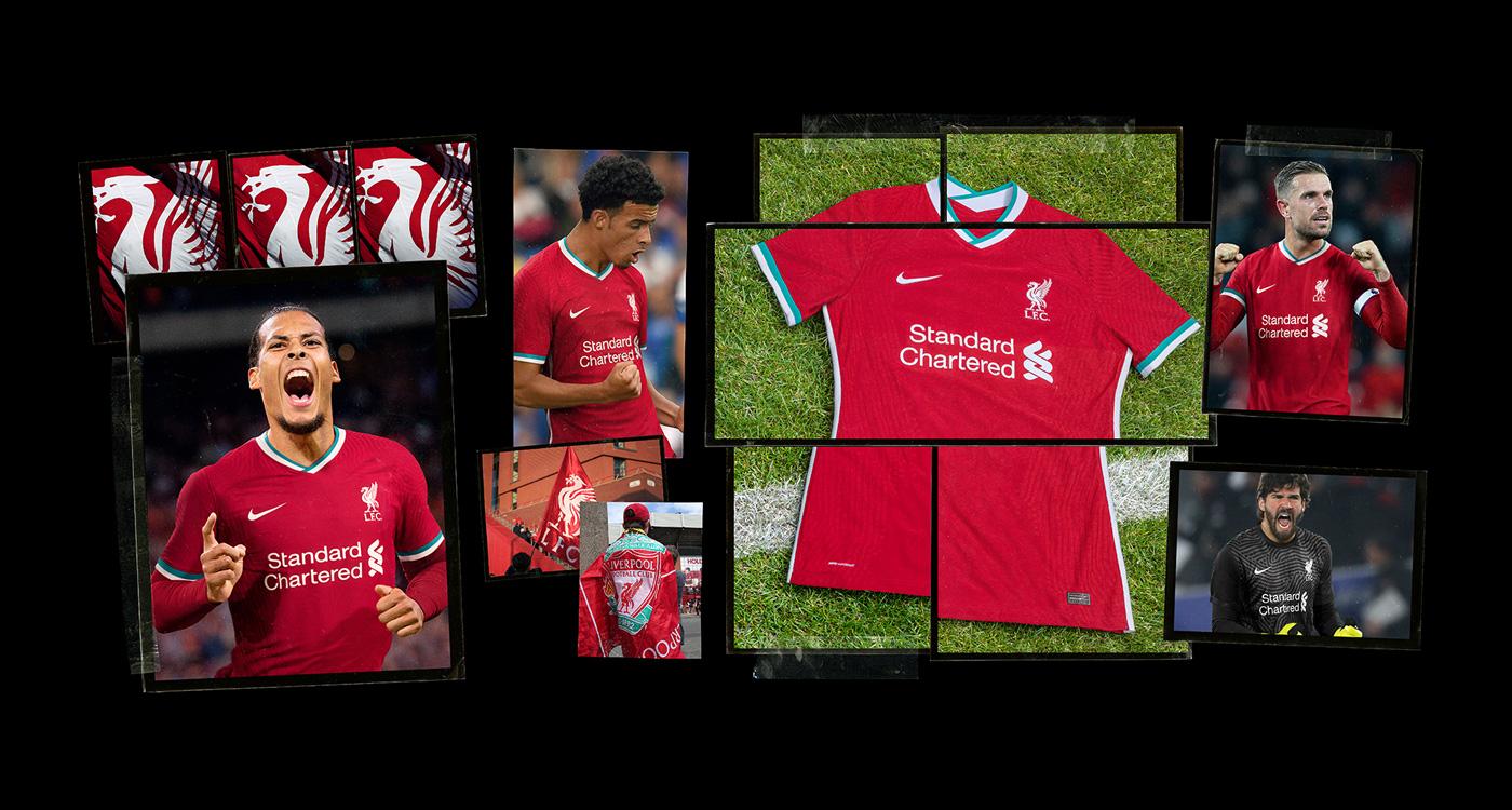 Maglia Liverpool 2020-2021, il grande esordio di Nike