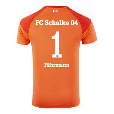 Maglia portiere Schalke 04 arancione 2020-21 retro