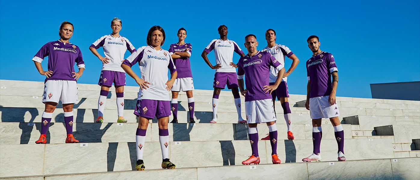 Nuove maglie Fiorentina 2020-2021 Kappa