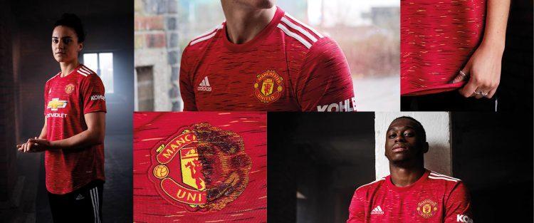 Dettagli nuova maglia Manchester United 2020-21