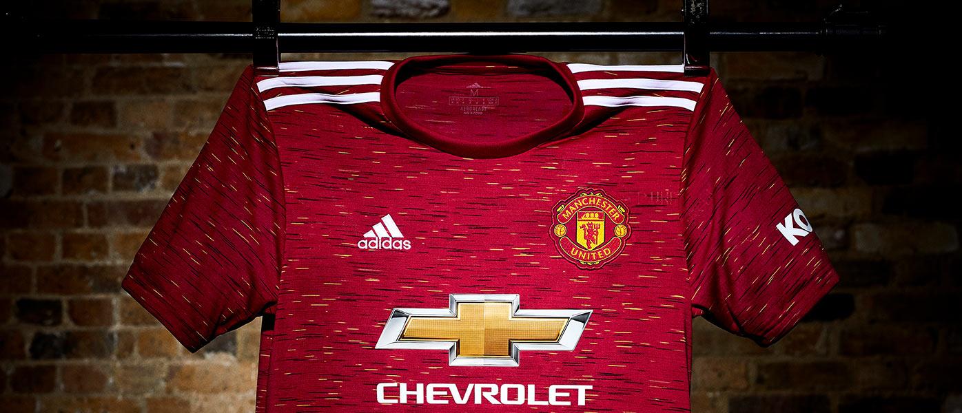 La nuova maglia del Manchester United 2020-2021