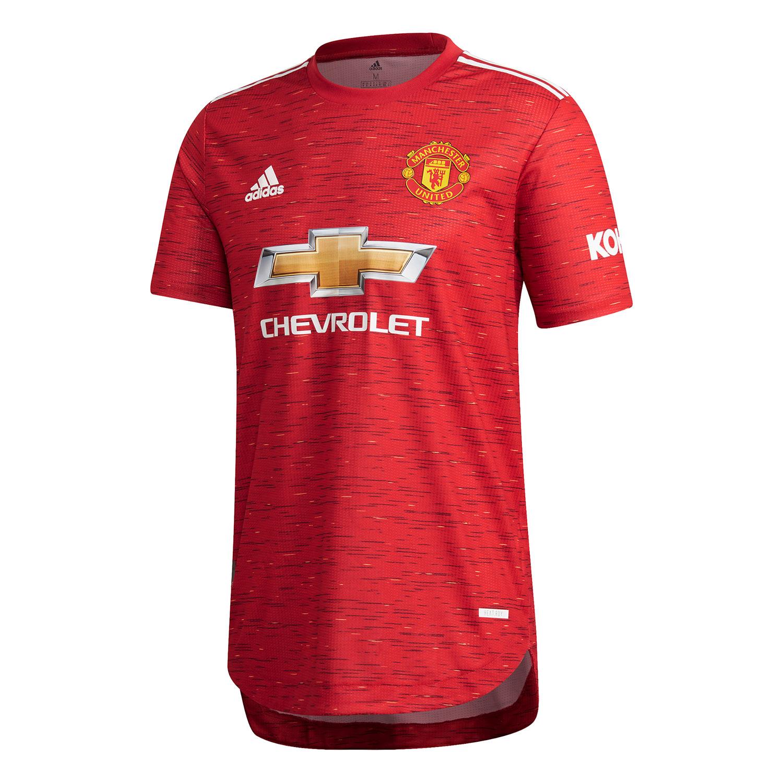 Maglia Manchester United 2020-2021 con un pattern ispirato allo stemma