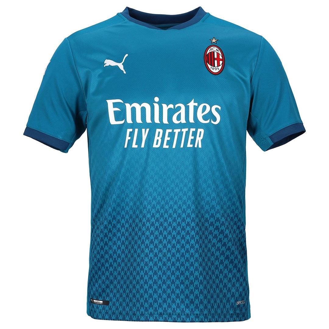 Terza maglia Milan 2020-2021, dettagli di alta moda con Puma