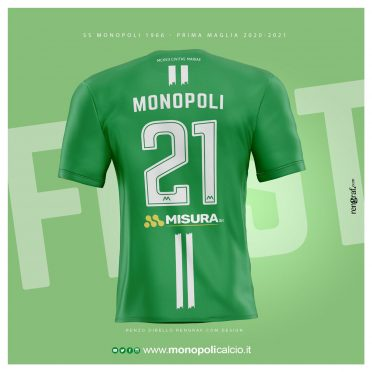 Maglia Monopoli 2020-2021 Joma retro