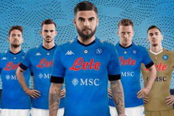 Le maglie del Napoli 2020-2021 Kappa