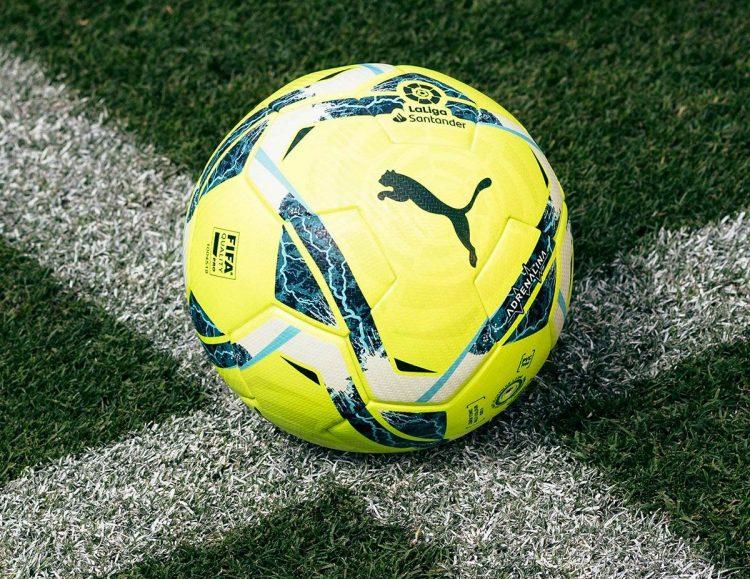Pallone Liga 2020-2021 giallo Puma Adrenalina