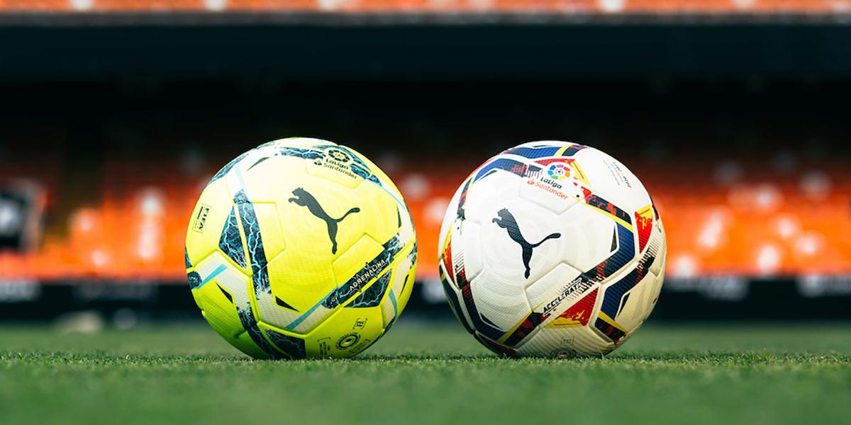 I nuovi palloni della Liga 2020-2021