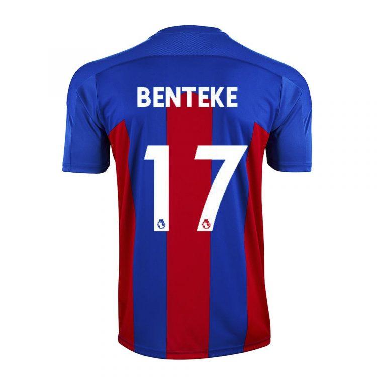 Maglia Crystal Palace 2020-2021 - Benteke 17