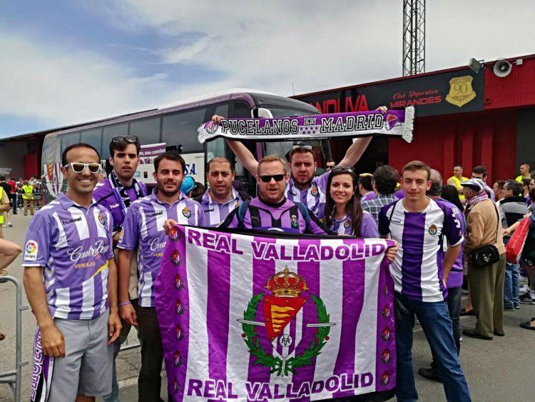 Tifosi Real Valladolid Pucelanos