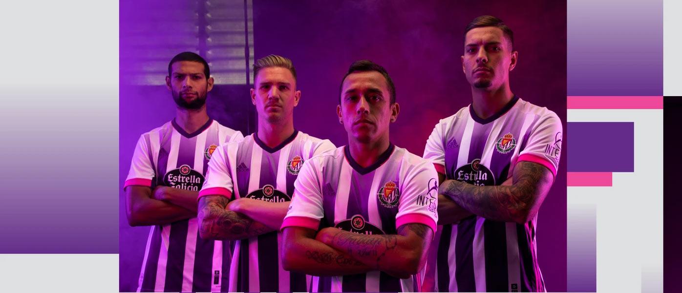 Le maglie del Real Valladolid 2020-21