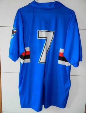 Maglia Sampdoria 1990-91 Lombardo 7