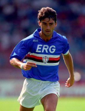 Roberto Mancini, Sampdoria 1990-91